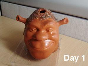 shrek chia-pet